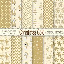 digital paper gold scrapbook