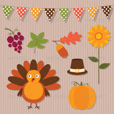 thanksgiving vector set by lattesmile graphicriver