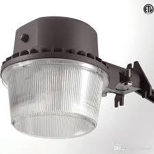 led barn light home depot 48 watt led dusk to dawn barn light tled602 48 vs pc1tl privet
