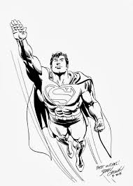 dc comics of the 1980s superman sketch by jerry ordway