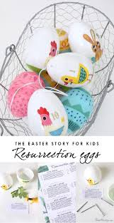 easter resurrection eggs kids easter activities resurrection eggs house mix