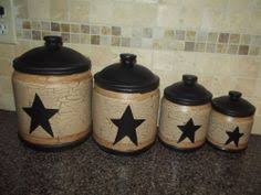 rustic kitchen canister sets country primitive dishes vine dinnerware country decor
