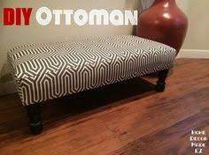 Build An Ottoman How To Make An Ottoman Out Of A Coffee Table For The Home