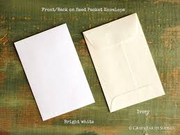 seed envelopes sale 100 standard size seed packet envelopes recycled white