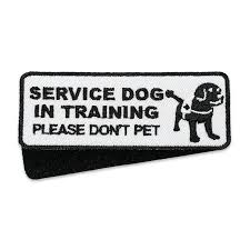 service dog in training patches esara order online or by phone