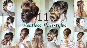 11 heatless hairstyles diy hairstyles braidsandstyles12 youtube