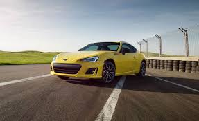 porsche signal yellow 2017 subaru brz pictures photo gallery car and driver