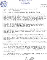 Enforcement Letter Of Recommendation Exle Warrant Officer Letter Of Recommendation Exle Image Collections