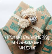 custom wrapping paper wrap it pretty with custom wrapping paper from jukeboxprint