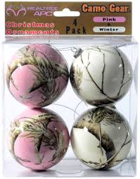 realtree camo ornaments pink white