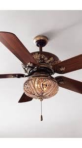 Country Style Ceiling Fans With Lights Country Cottage 60 Casa Vieja Brighton Way Golden Bronze