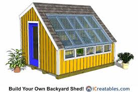 Diy 10x12 Shed Plans Free by Greenhouse Shed Plans Easy To Use Diy Greenhouse Designs