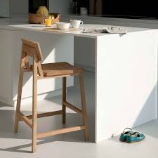 kitchen counter stools wooden home decorations insight