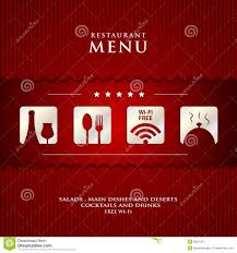 vector paper restaurant menu design stock image image 36201671