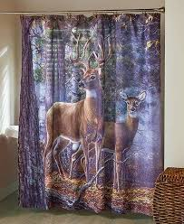 Country Themed Shower Curtains Best 25 Deer Shower Curtain Ideas On Pinterest Cabin Bathroom