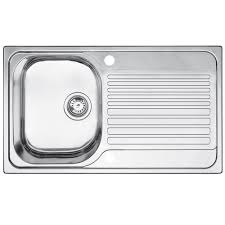 Blanco Toga  Bowl Stainless Steel Compact Sink  Drainer - Compact kitchen sinks stainless steel