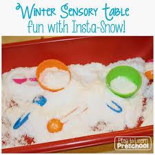 thanksgiving sensory table ideas insta snow sensory table from play to learn preschool sensory