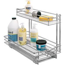 cabinet u003e pull out baskets u003e deep pull out under sink organizer