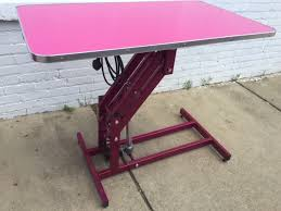 table top grooming table electric grooming table