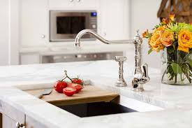 traditional kitchen faucets traditional kitchen with chrome faucet by terracotta design build
