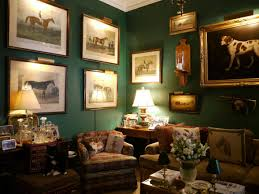 traditional interior design as featured in period house magazine