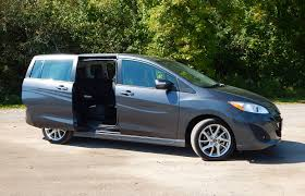 minivan review 2014 mazda5 gt driving