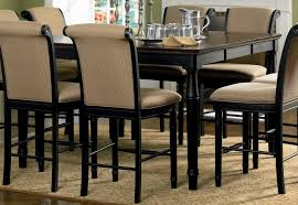 Counter Height Dining Room Furniture Coaster Cabrillo Counter Height Two Tone Dining Table