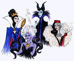 hayden williams fashion illustrations the disney villains are