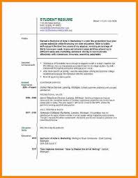 Resume Sample Student College by One Job Resume Examples Internet Offers Various Bartender Resume