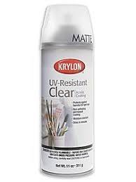 Krylon Transparent Spray Paint - krylon spray uv resistant clear misterart com