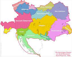 German States Map by Thomas U0027s Glassware Tour Plan