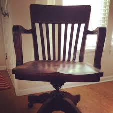 Secretary Desk Chair by Old Wooden Secretary Chair These Words I Write