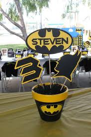 batman centerpieces batman birthday party ideas birthday party centerpieces batman