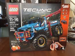 lego technic 2017 lego technic 6x6 all terrain tow truck 2017 42070 ebay