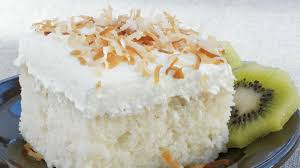 coconut tres leches cake recipe bettycrocker com