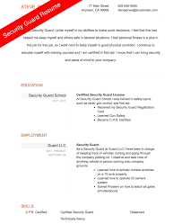 security guard resume exle security guard resume sle 100 images esl essay writing 11 12
