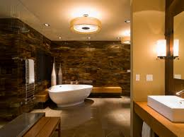 home decor bathroom with freestanding tub ceiling mounted shower
