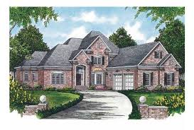 new american house plans eplans new american house plan perfect for corner lot 3040