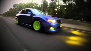 yellow subaru wrx 2011 subaru sti sedan youtube