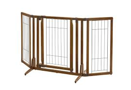 amazon com richell 3 in 1 convertible elite pet gate 6 panel