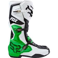 New Fox Racing 2017 Mx Comp 8 Le White Black Green Monster