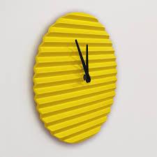 Pendule Murale Originale by Lampes Et Horloges Design Sabrina Fossi