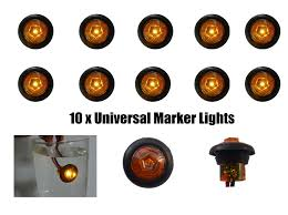 led mini marker lights freeshipping amber mini side marker lights truck led lights trailer