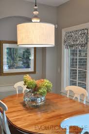 Chandelier Height Above Table by Best 25 Drum Shade Chandelier Ideas On Pinterest Drum Shade
