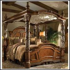 king canopy bed frame genwitch