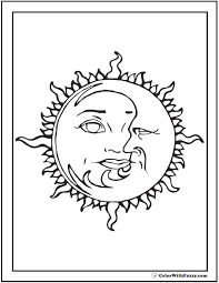 60 star coloring pages customize print pdf