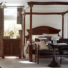 luxury bedroom furniture classic four post bed 92004