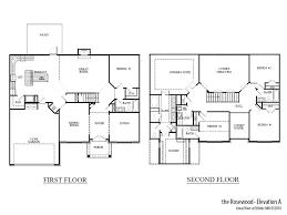 2 story great room floor plans rosewood grt home builders atlanta ga sr homes