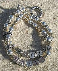 beaded name bracelets mothers bracelet bracelets children s name bracelets