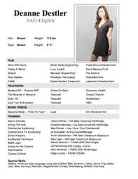 Promo Model Resume Download Modeling Resume Template Haadyaooverbayresort Com